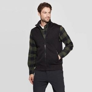 Goodfellow & Co Black Fleece Vest